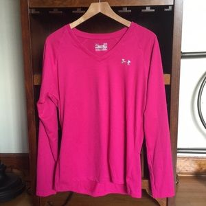 Under Armour pink top